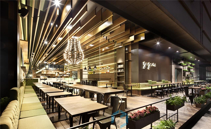深圳的自助餐厅装修,你不能忽视的事情