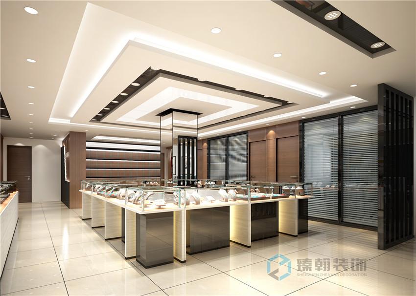 深圳珠宝店装修,专业珠宝店设计公司