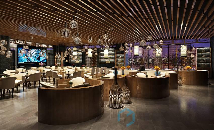 怎样把小餐饮店装修使一个大空间,餐饮店省钱