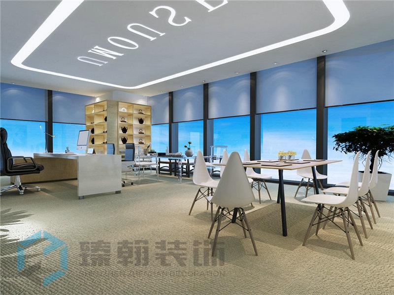 弧形办公室装修怎么设计