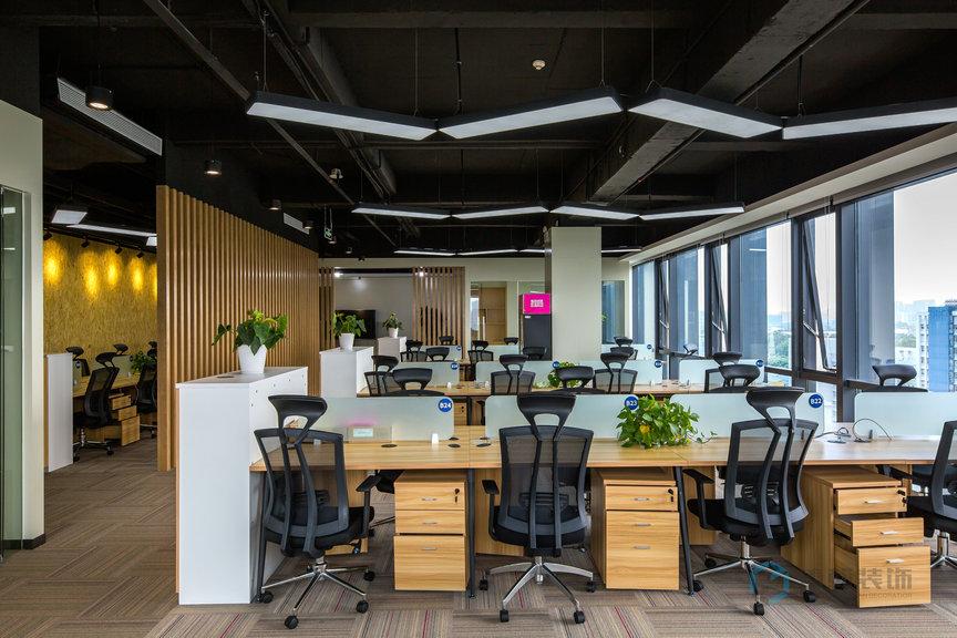 深圳办公室装修设计怎么加入企业元素