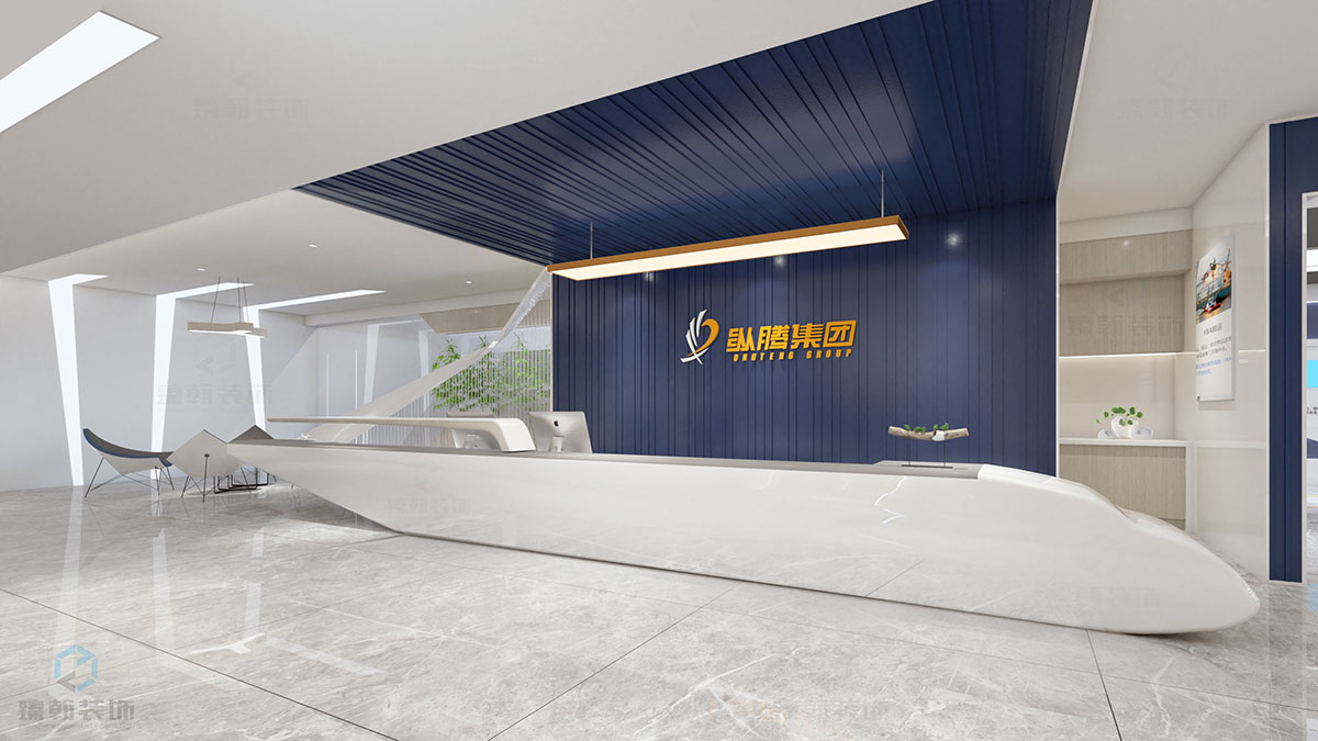臻翰 | 230㎡国际物流展厅设计装修