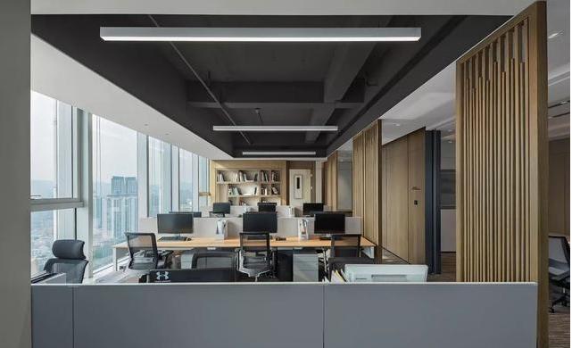深圳办公室装修要时代化与实用化
