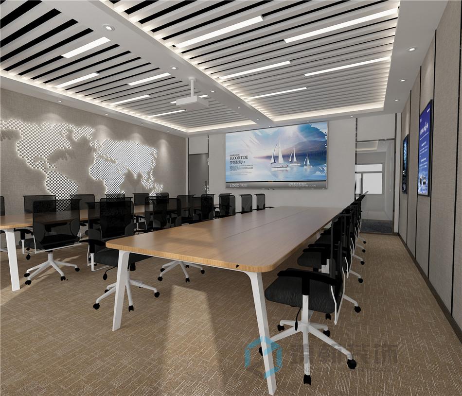 2000平方新颖的办公室设计效果