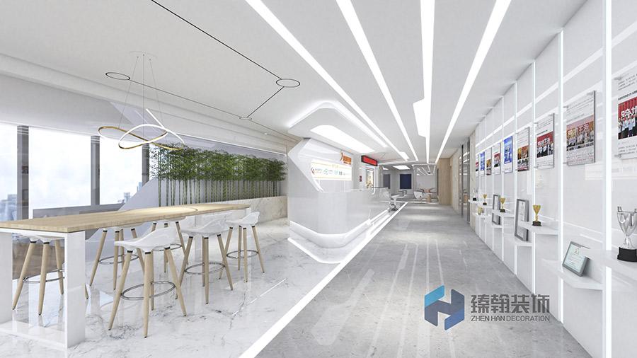 企业办公室学问墙的设计如何更加精彩?