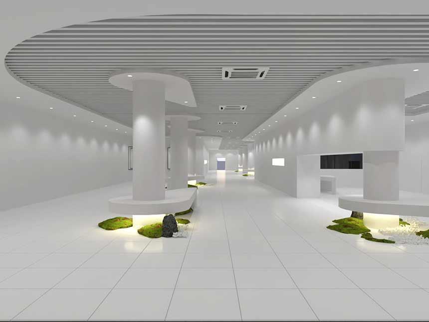 为什么智能深圳展厅装修设计越来越受欢迎?