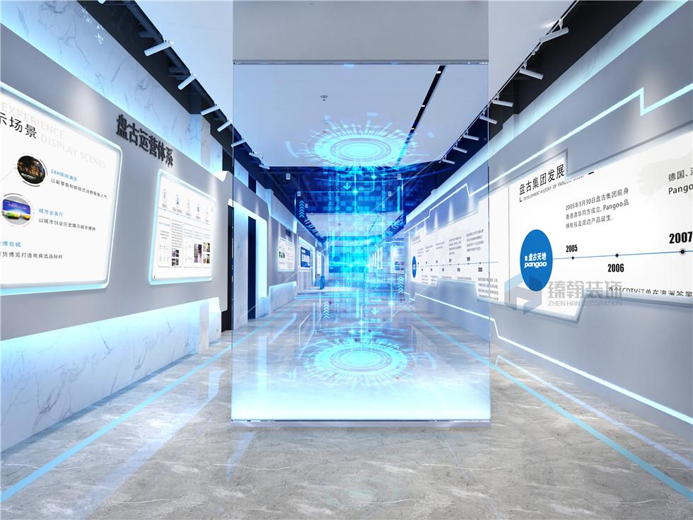 深圳展厅设计的色彩定位应该如何做