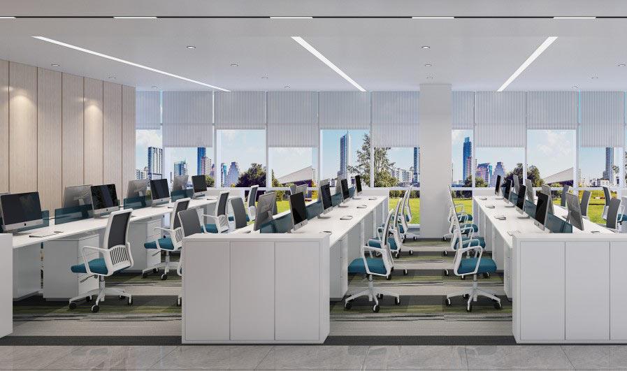 如何让办公室装修设计更富有色彩和特色?