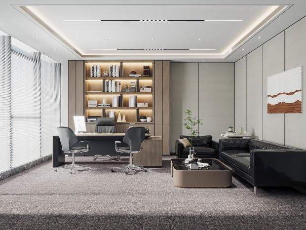 福田写字楼办公室装修设计