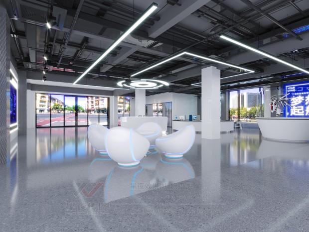 深圳南山区科技园老板办公室装修