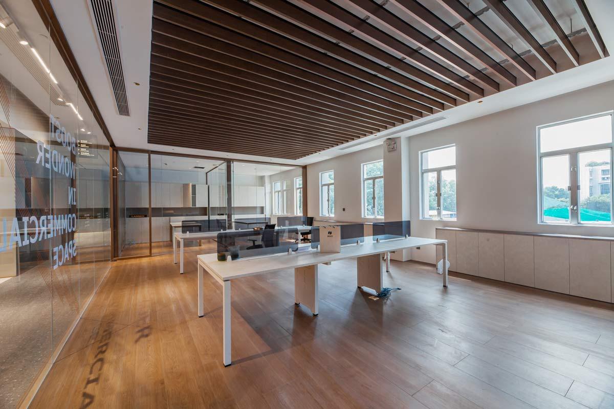 夏天可以进行办公室装修设计吗?